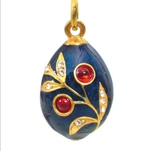 Russian Faberge Egg Pendant